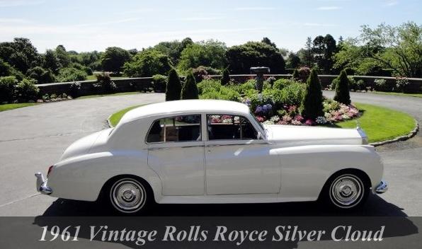 1961 Vintage Rolls Royce Silver Cloud
